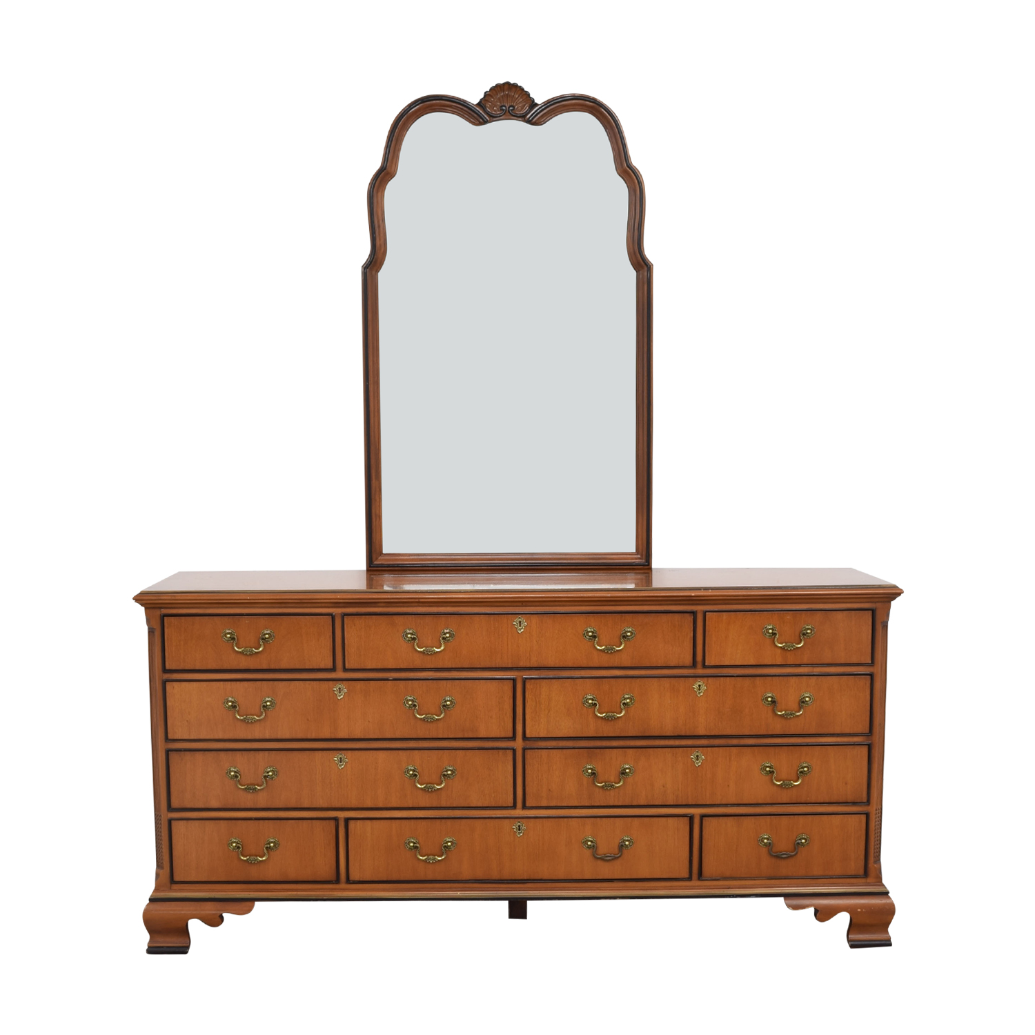 Drexel Drexel Dresser with Mirror dimensions