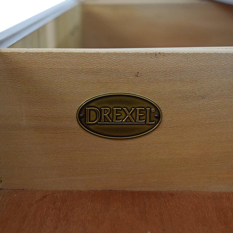 Drexel Drexel Dresser with Mirror Storage