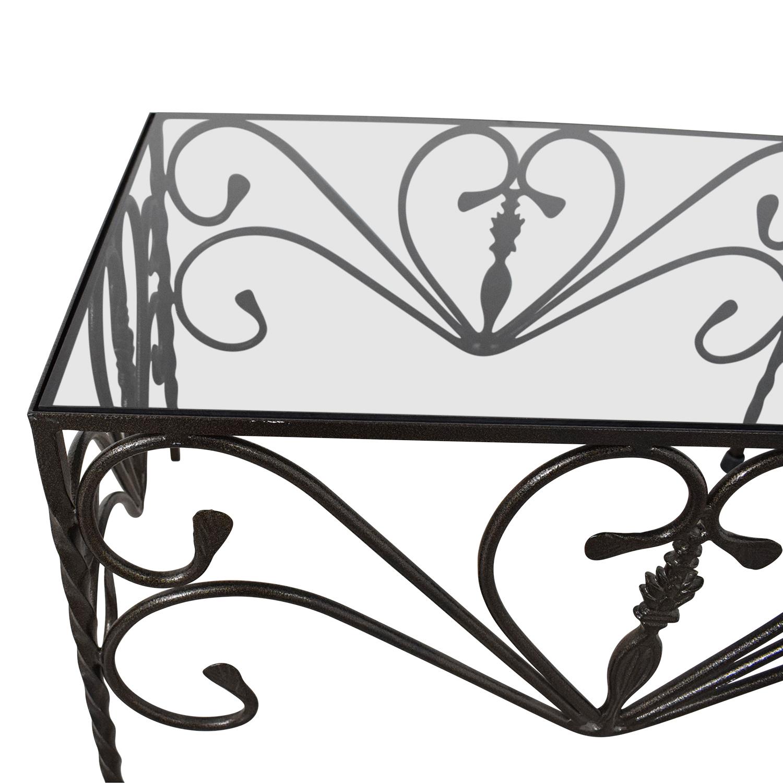 Custom Wrought Iron Table nj