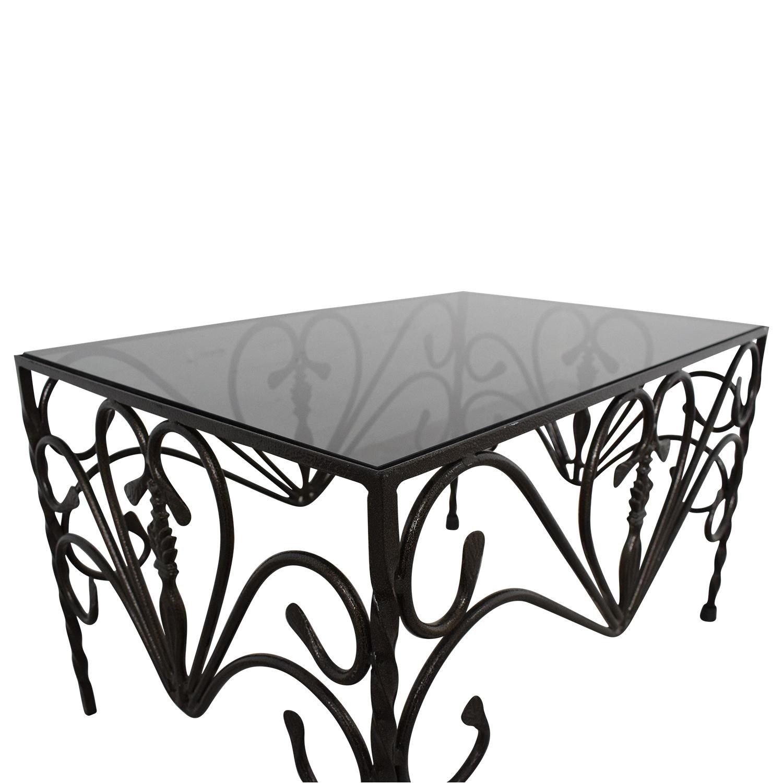 buy Custom Wrought Iron Table