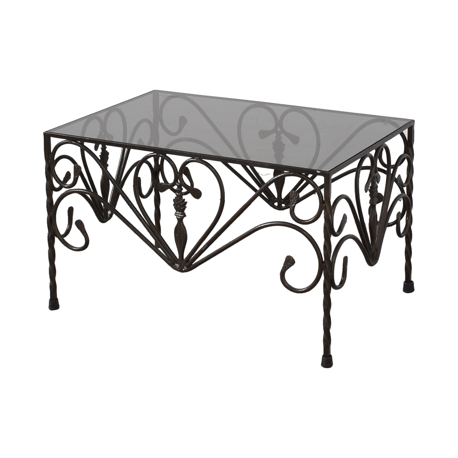 Custom Wrought Iron Table Accent Tables