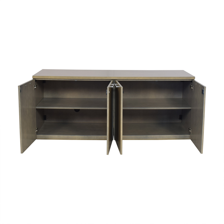 Modern Credenza with Cabinets Storage
