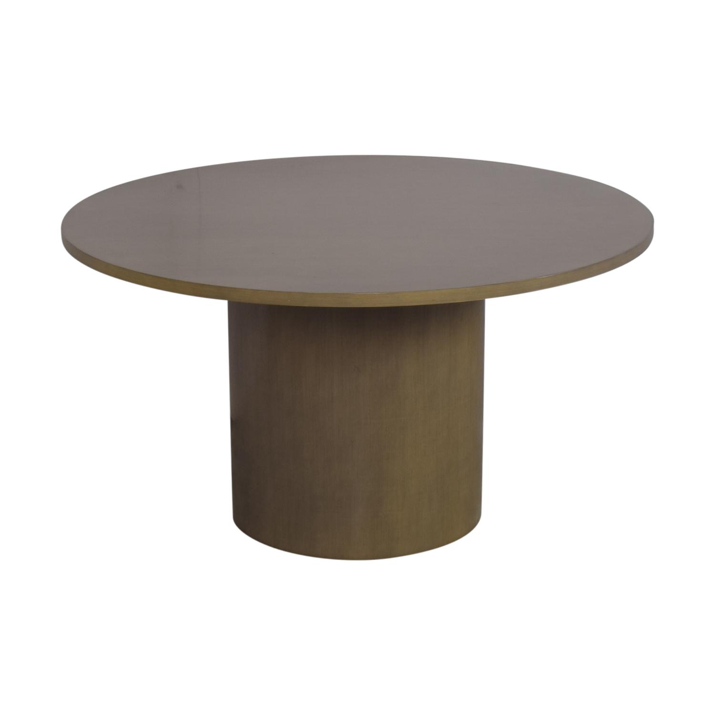 shop Pedestal Dining Table  Dinner Tables