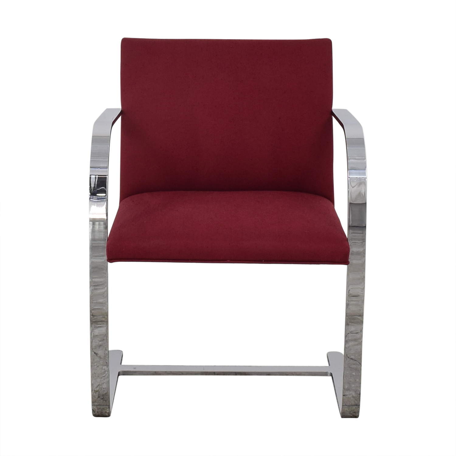 buy Knoll BRNO Chair with Flat Bar Frame Knoll Chairs