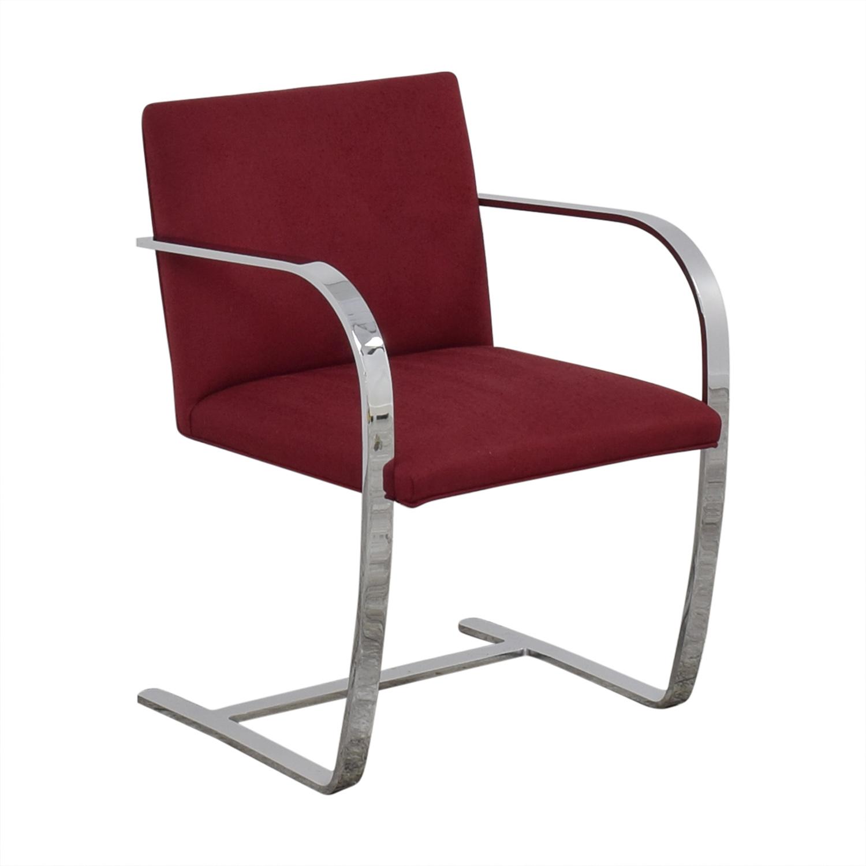 Knoll BRNO Chair with Flat Bar Frame sale