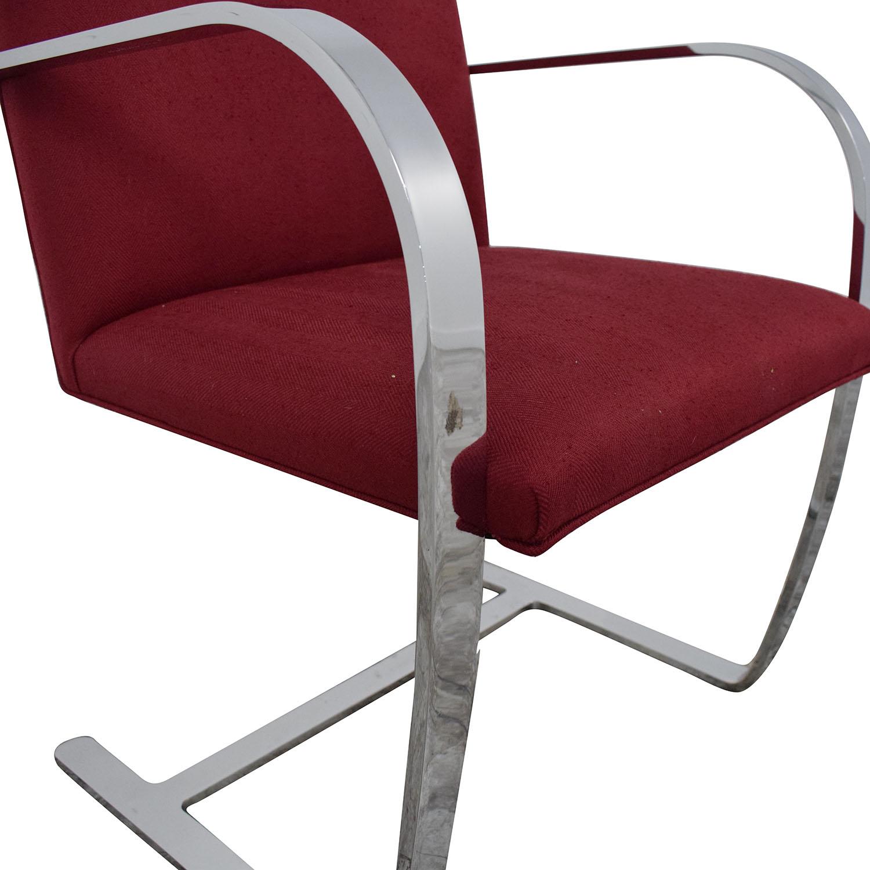 Knoll Knoll BRNO Chair with Flat Bar Frame second hand