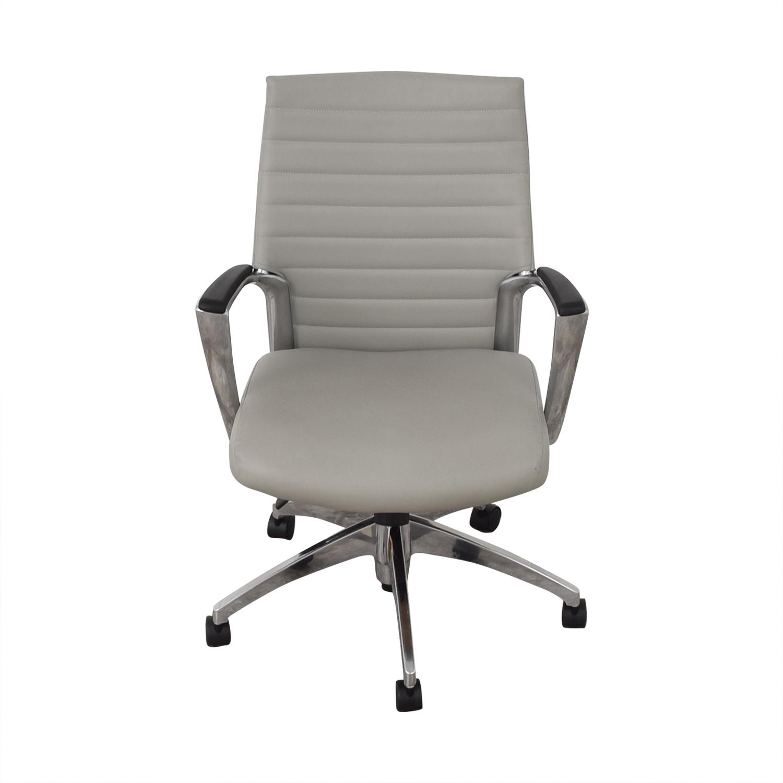 Global Global Accord Upholstered Medium Back Tilter Chair dimensions