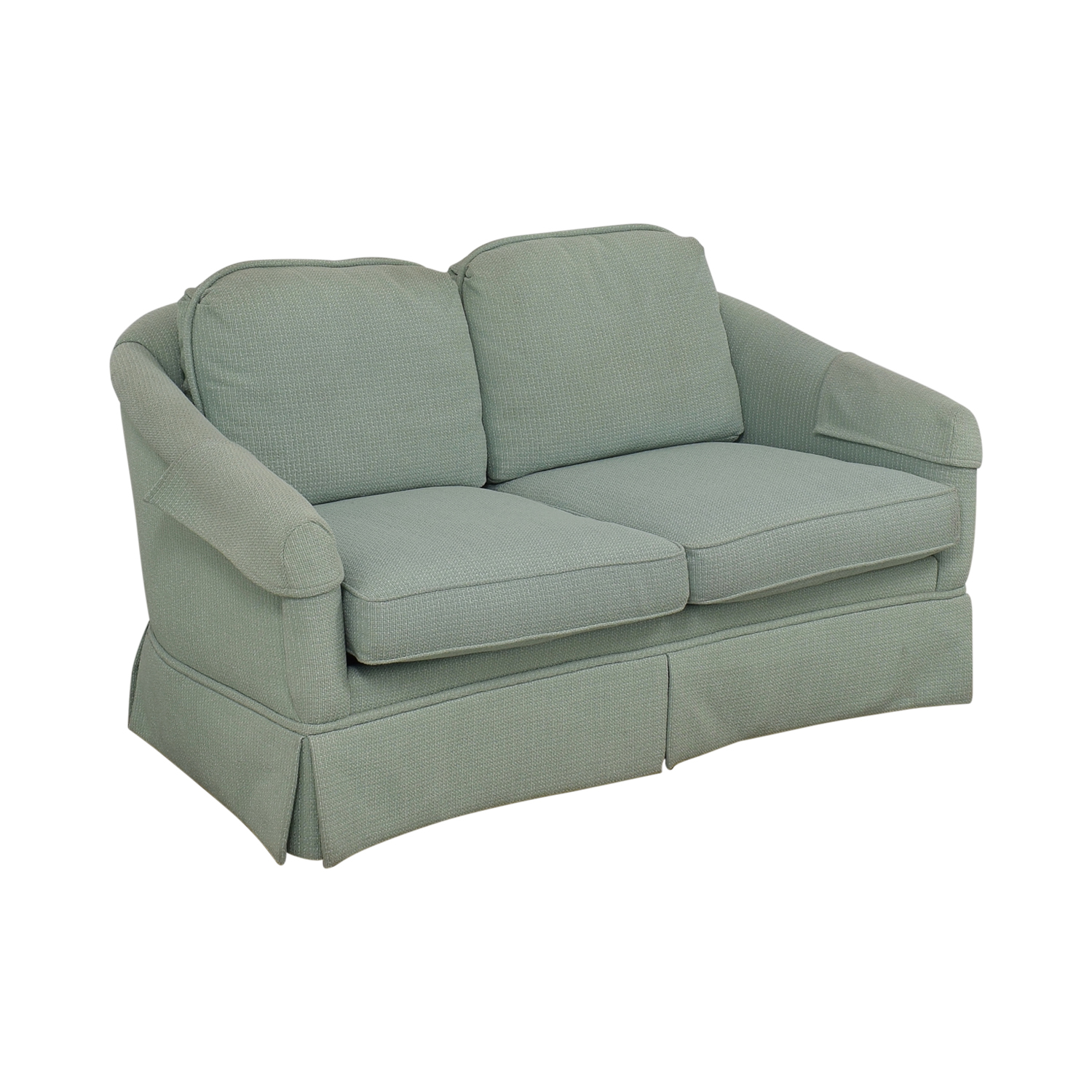 Hickory Chair Hickory Chair Two Cushion Loveseat blue