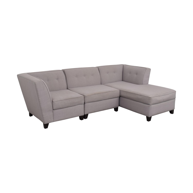 buy Macy's Three Piece Sectional Sofa Macy's
