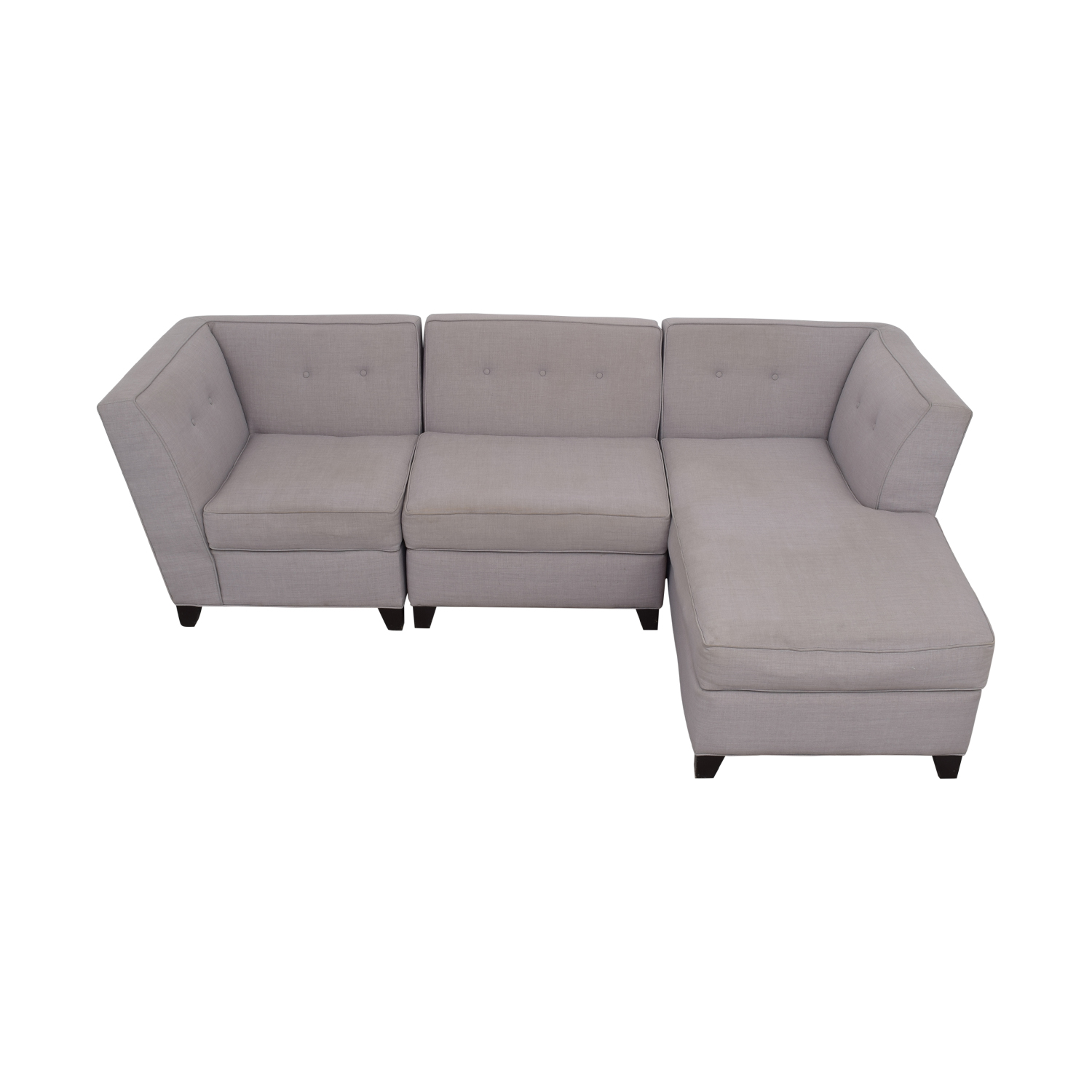 shop Macy's Three Piece Sectional Sofa Macy's Sectionals