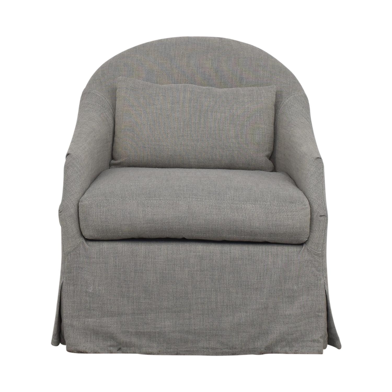 Strange 75 Off Rh Baby Child Rh Baby Child Classic Demi Slope Arm Swivel Glider Chairs Beatyapartments Chair Design Images Beatyapartmentscom