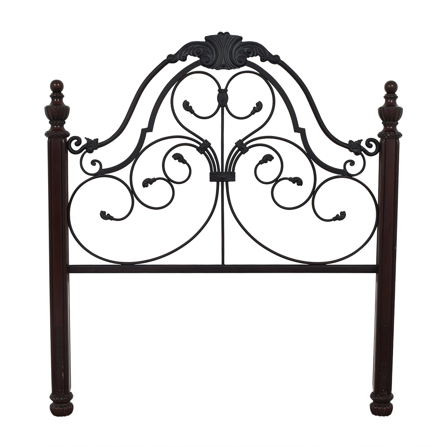 Hillsdale Furniture Hillsdale Furniture Queen Headboard black and brown