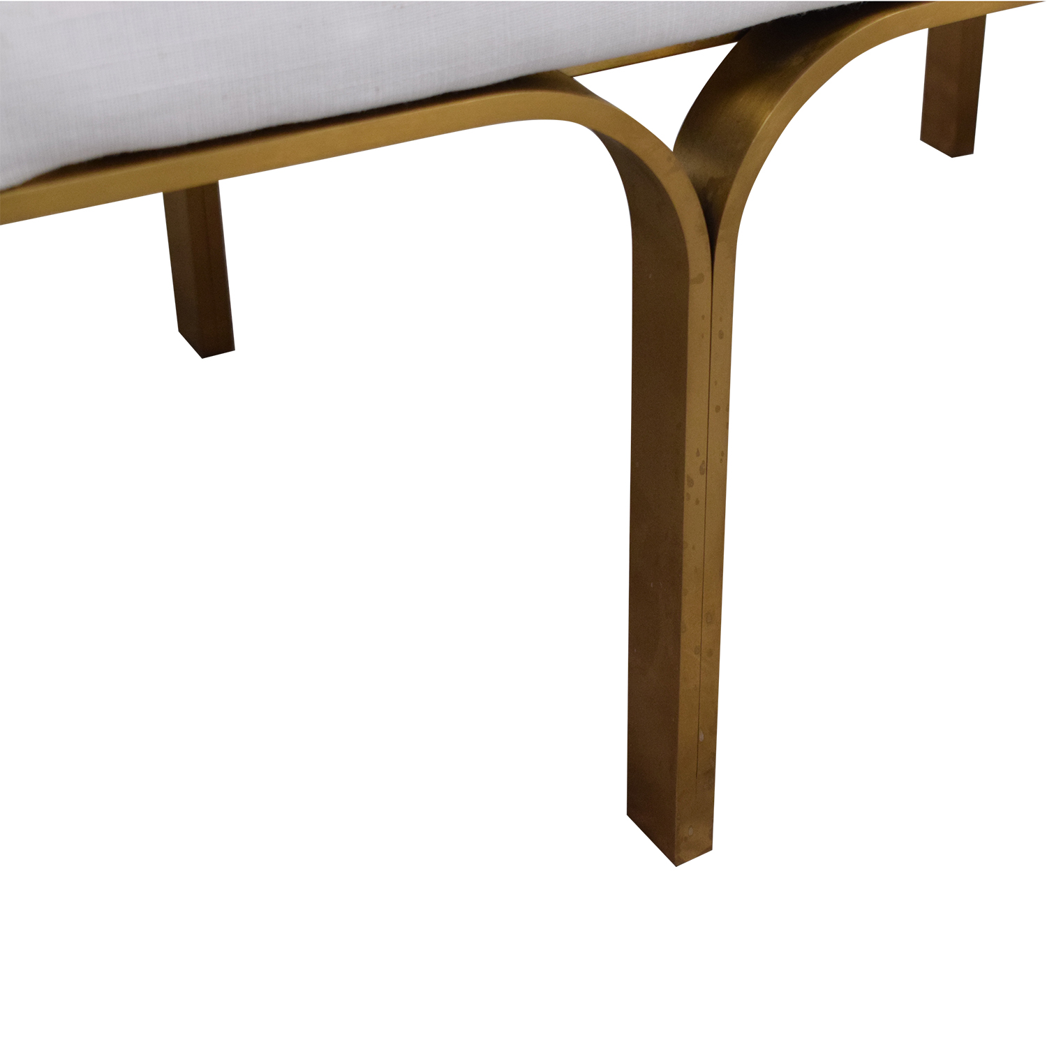 Restoration Hardware 1960s Link Bench / Benches