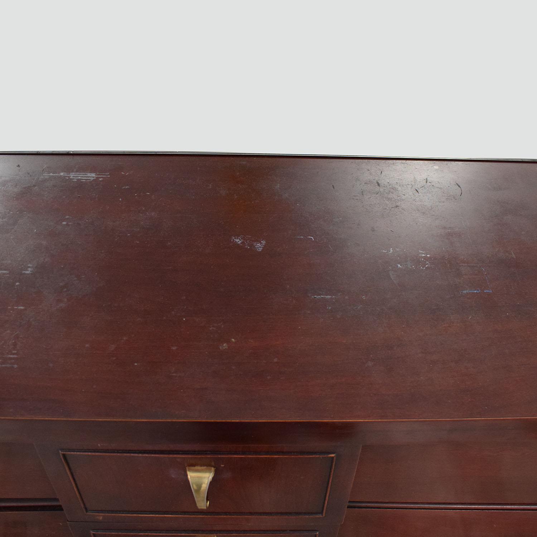 Image of: 70 Off Scandinavian Mid Century Modern Dresser With Mirror Storage