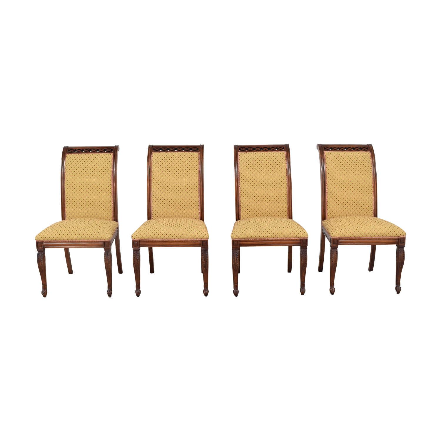 KPS Furnishings KPS Furnishings Custom Dining Chairs yellow & brown