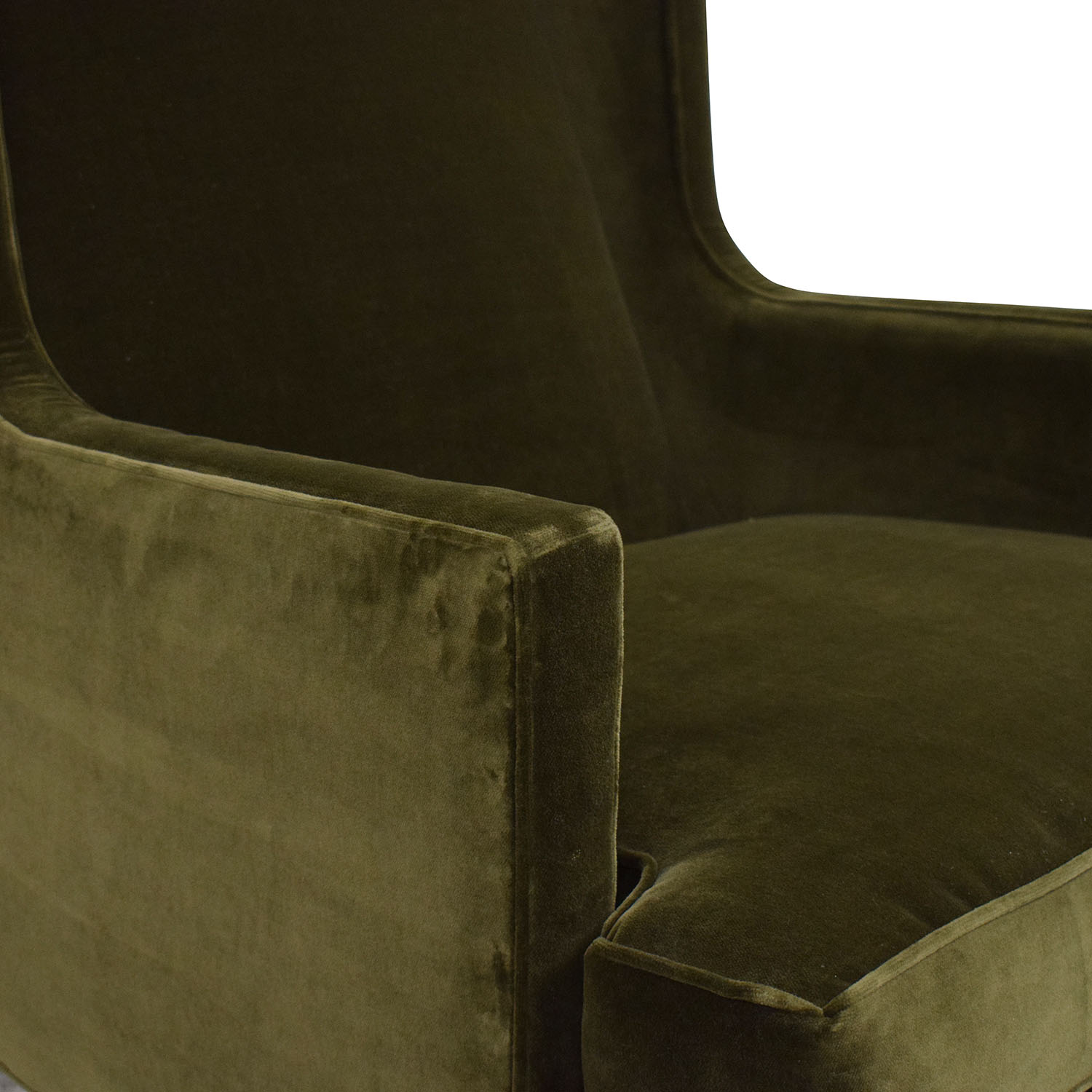 Crate & Barrel Crate & Barrel Luxe Wingback Chair coupon
