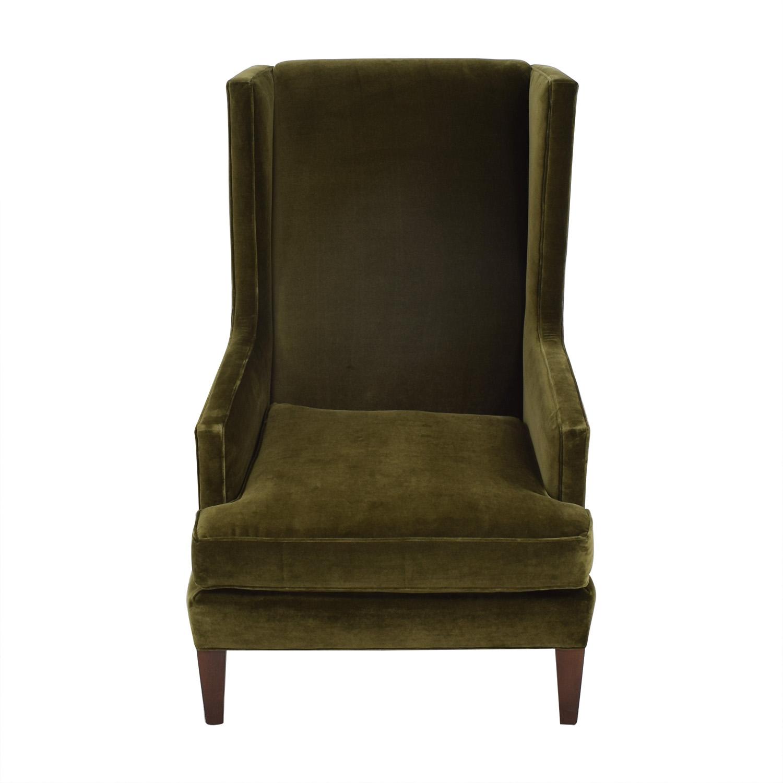 shop Crate & Barrel Crate & Barrel Luxe Wingback Chair online