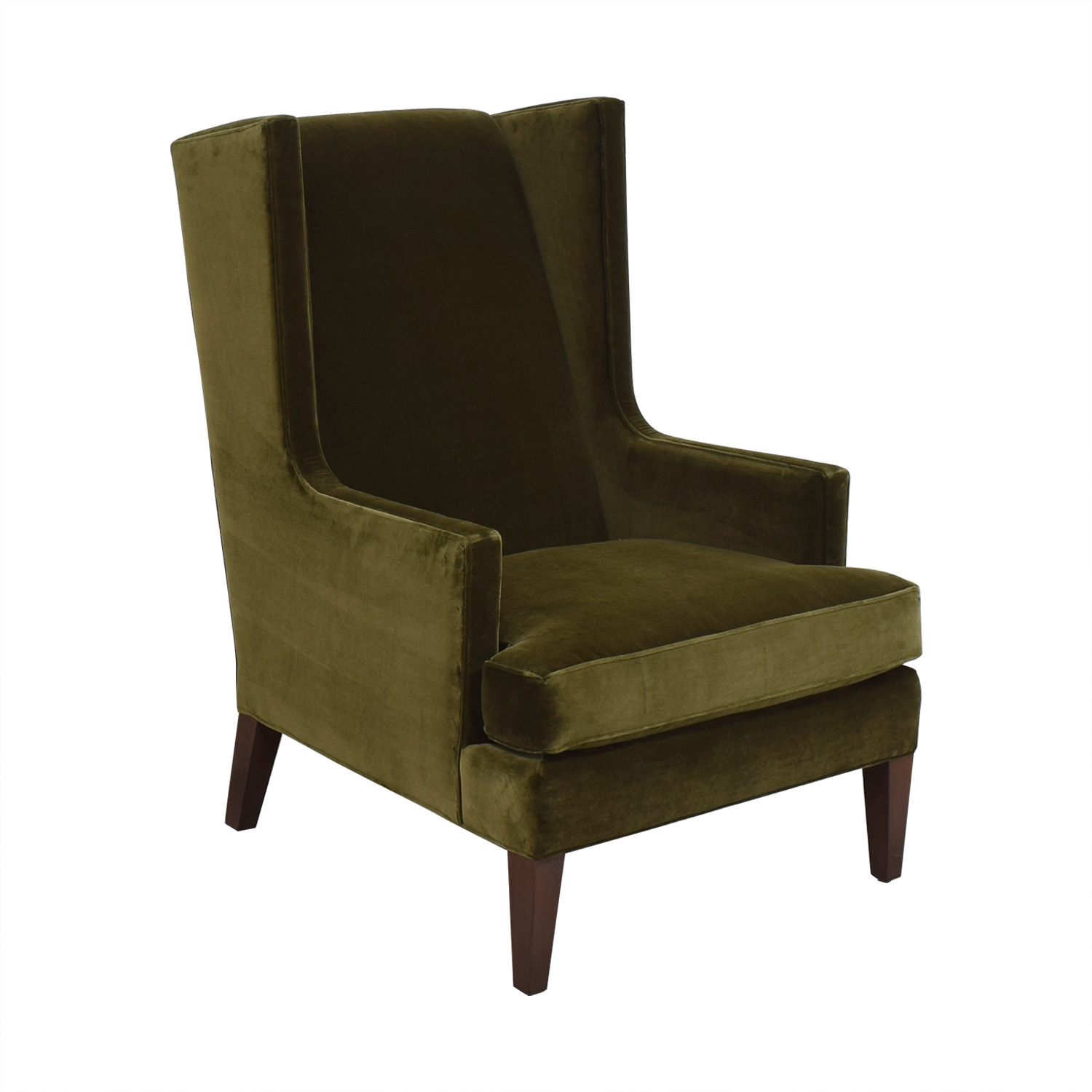 Crate & Barrel Crate & Barrel Luxe Wingback Chair pa