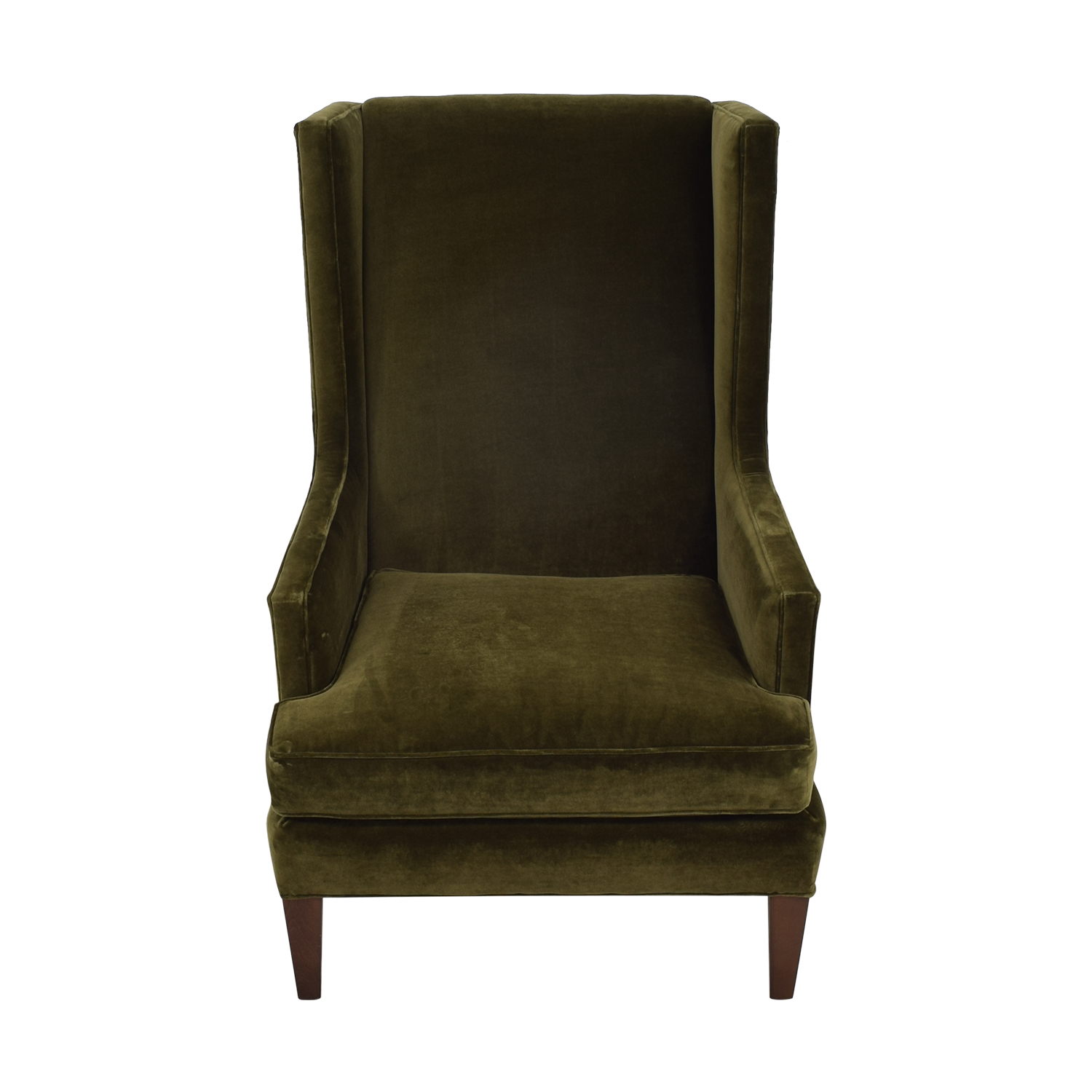 Crate & Barrel Crate & Barrel Luxe Wingback Chair Chairs