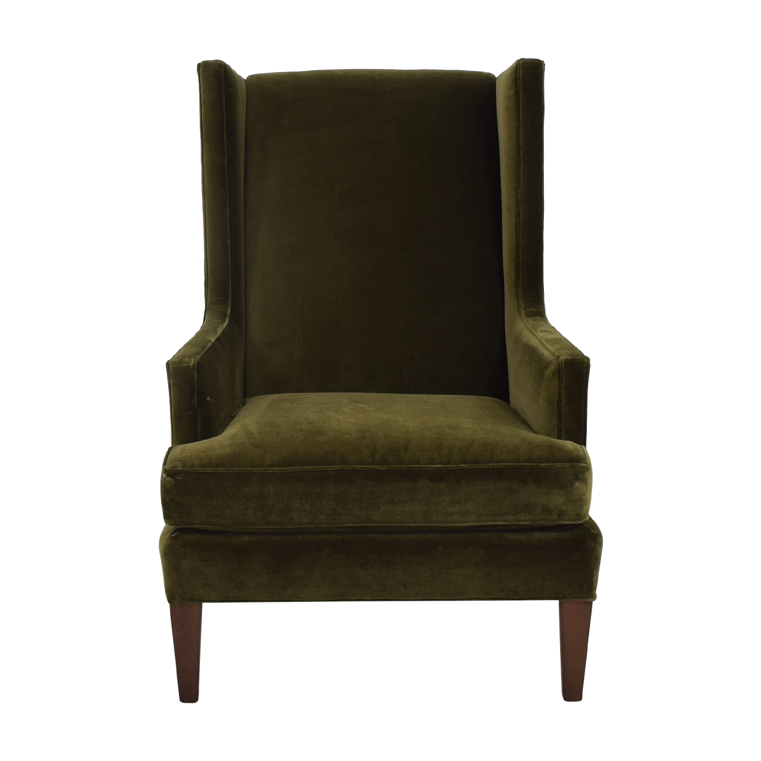 Crate Barrel Luxe Wingback Chair