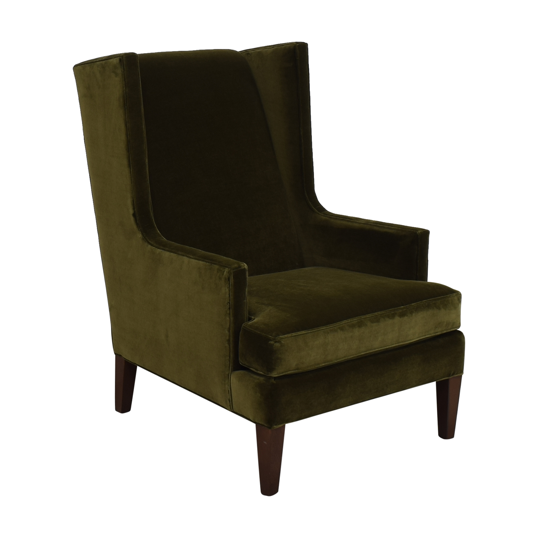 Crate & Barrel Crate & Barrel Luxe Wingback Chair discount