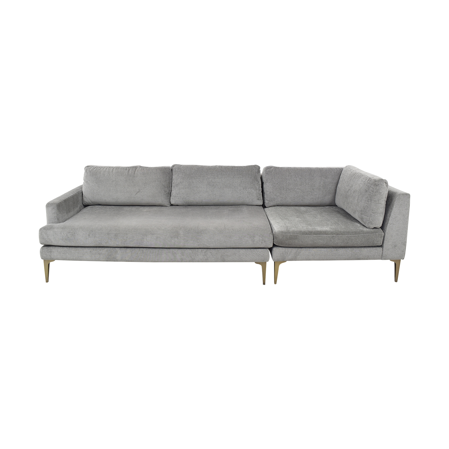 shop West Elm Andes Modular Sofa West Elm Classic Sofas