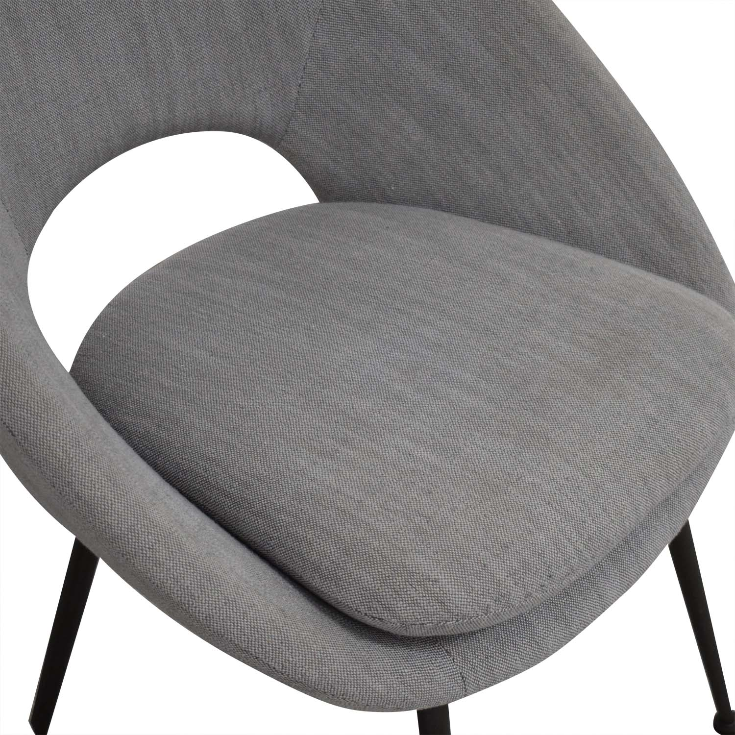 Admirable 55 Off West Elm West Elm Orb Upholstered Dining Chairs Chairs Machost Co Dining Chair Design Ideas Machostcouk