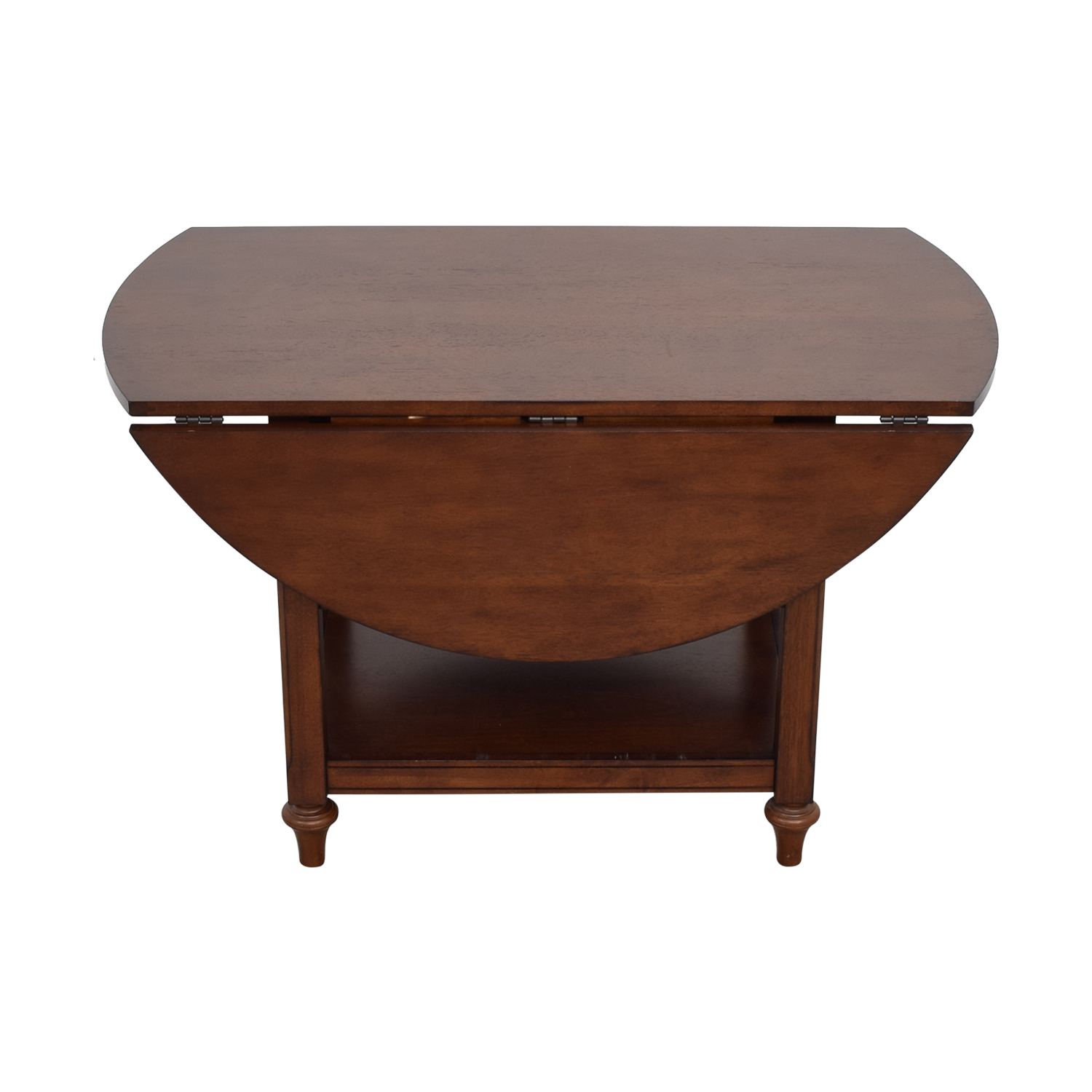55% OFF - Pottery Barn Pottery Barn Shayne Drop Leaf Kitchen Table / Tables