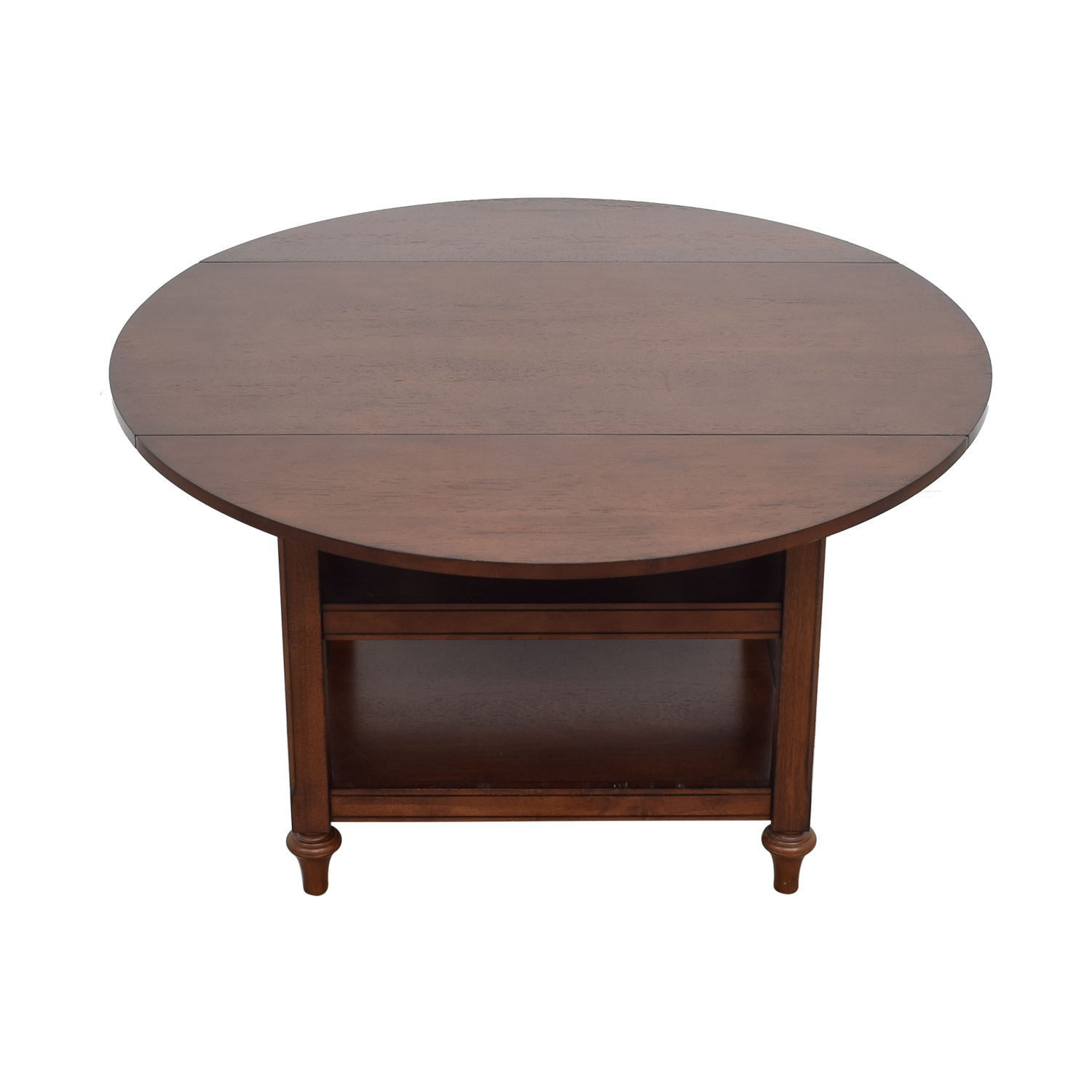 Pottery Barn Pottery Barn Shayne Drop Leaf Kitchen Table second hand