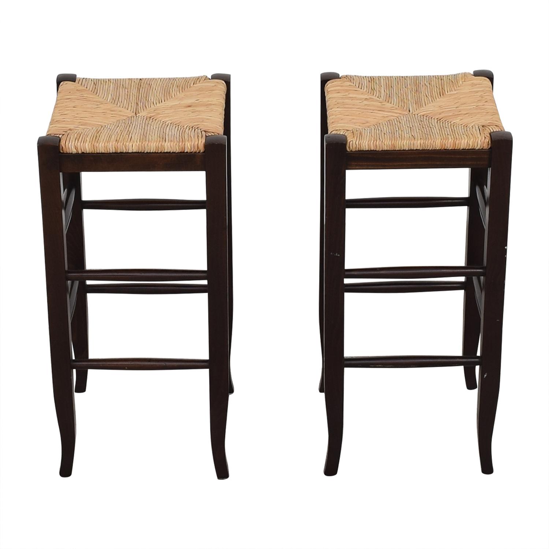 Awe Inspiring 42 Off Pottery Barn Pottery Barn Bar Stools Chairs Machost Co Dining Chair Design Ideas Machostcouk