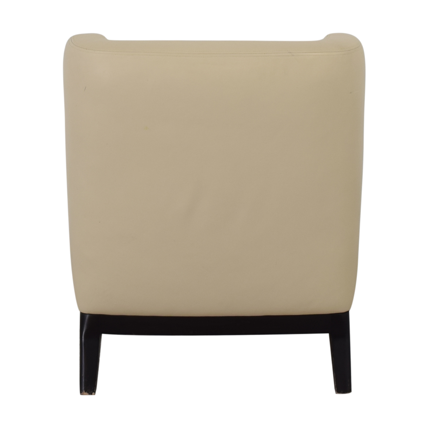 buy Armless Lounge Chair and Footstool