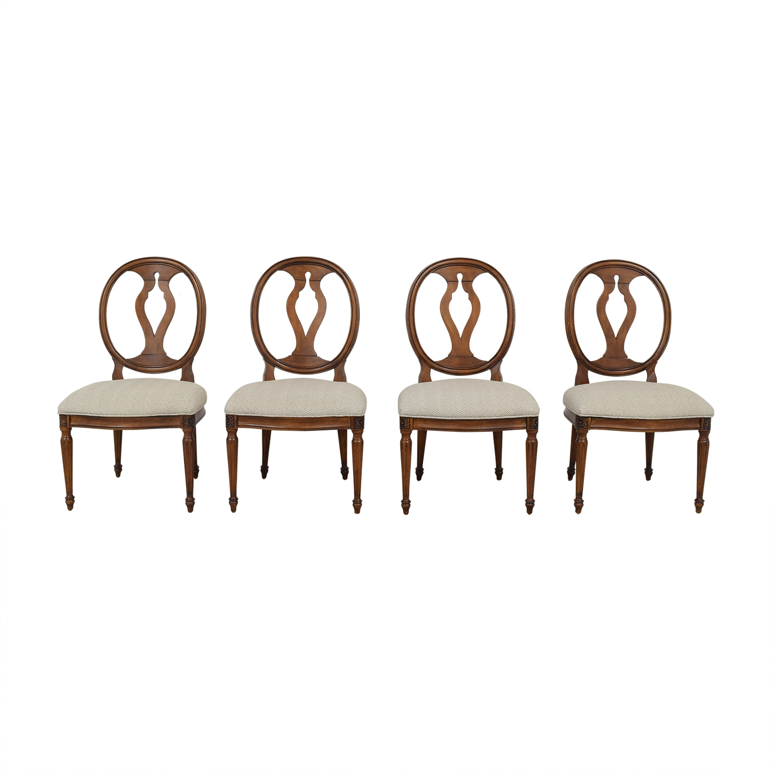 shop Ethan Allen Margaux Dining Chairs Ethan Allen Dining Chairs