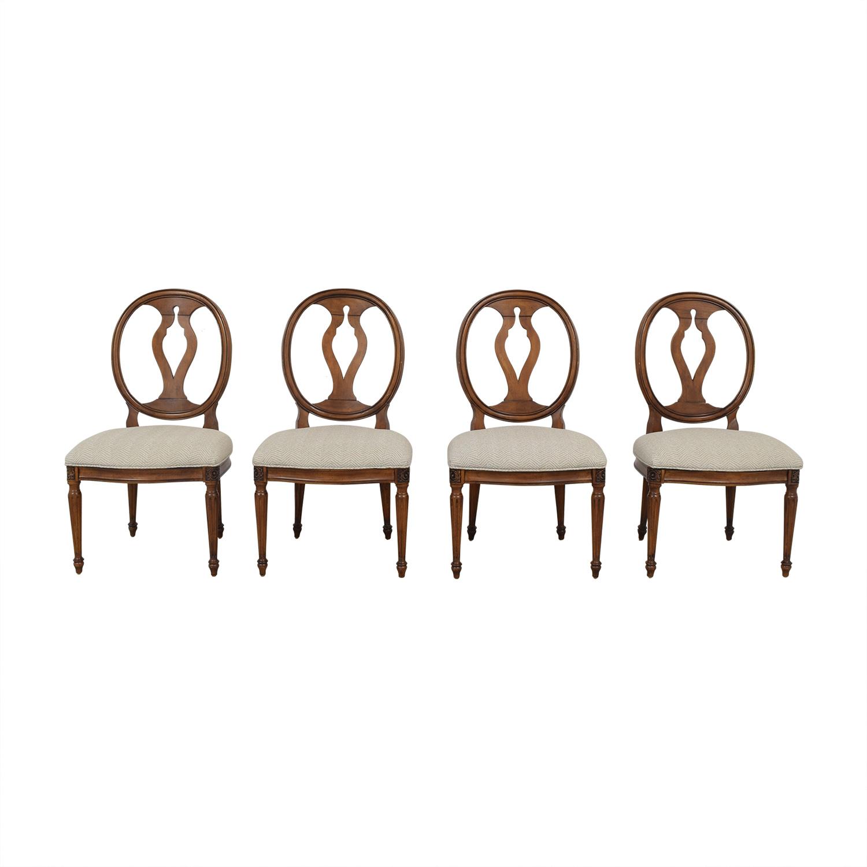 shop Ethan Allen Margaux Dining Chairs Ethan Allen