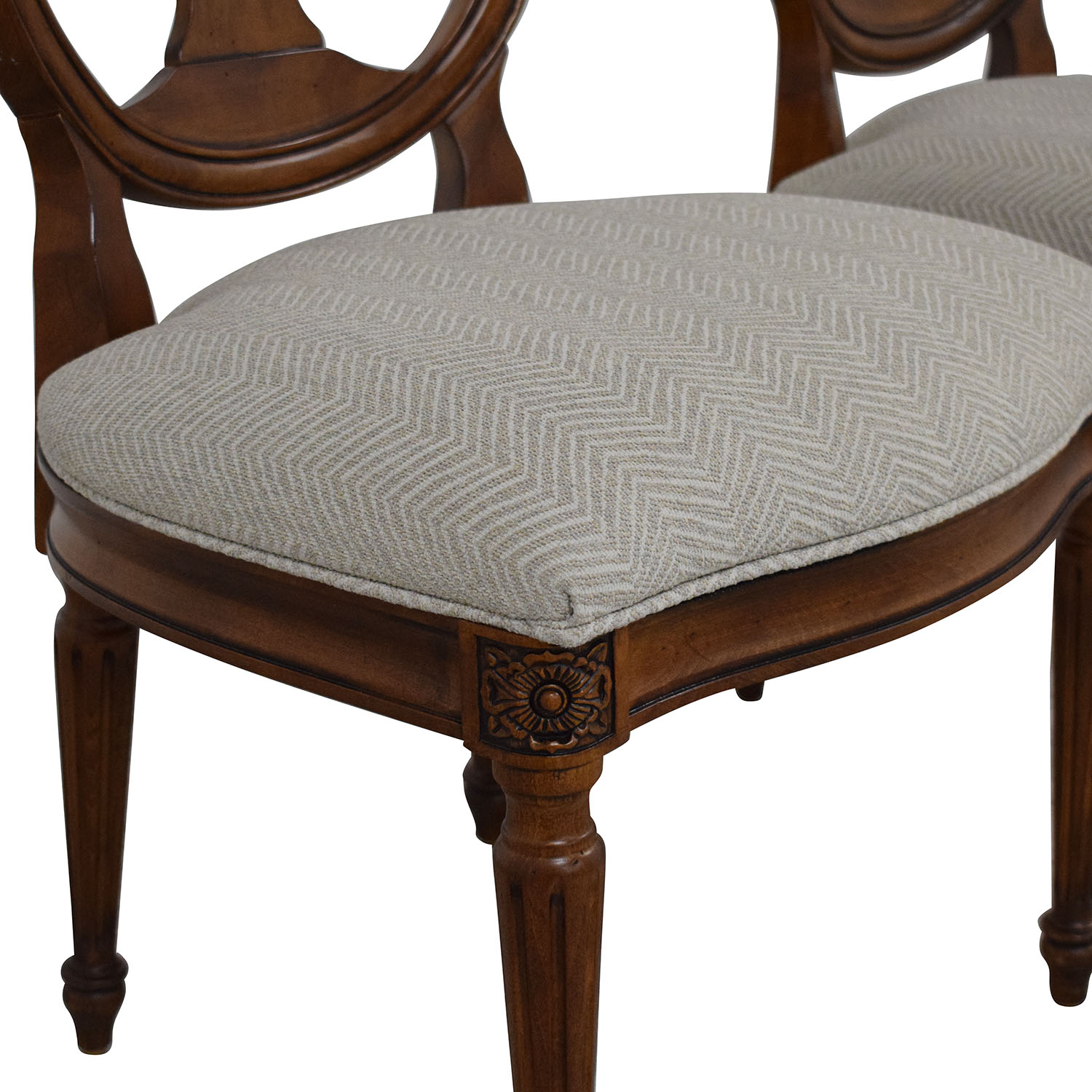 Ethan Allen Ethan Allen Margaux Dining Chairs pa