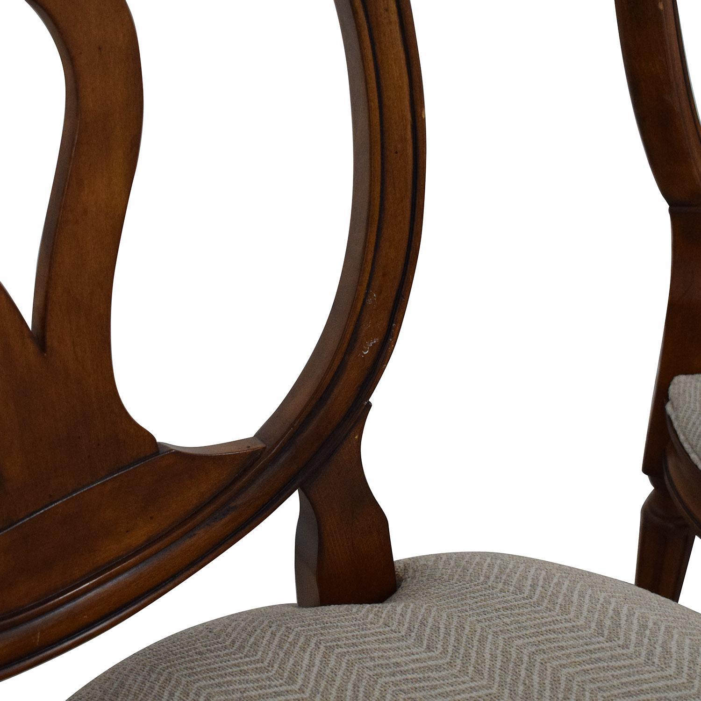 Ethan Allen Ethan Allen Margaux Dining Chairs brown