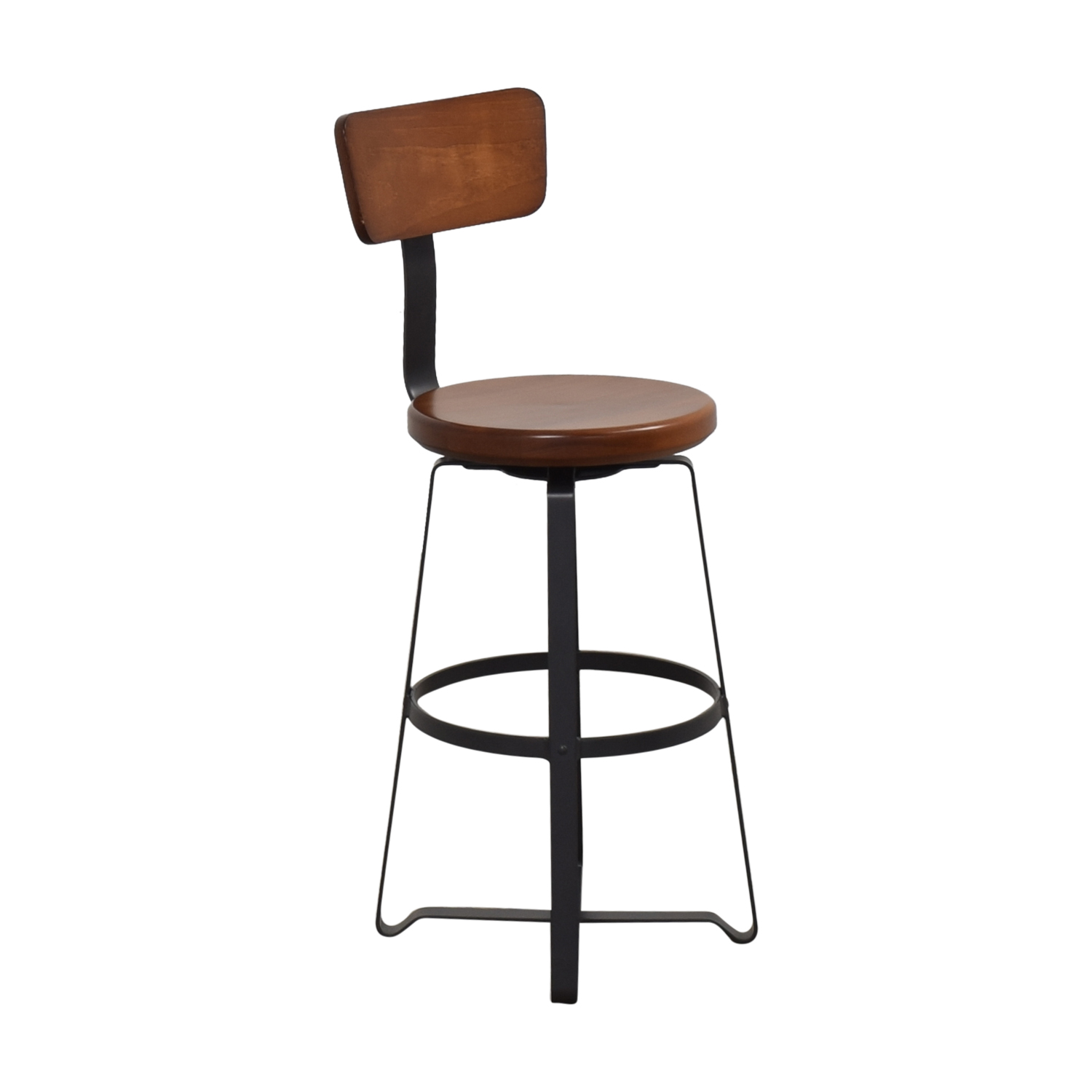 shop West Elm Adjustable Industrial Swivel Stool West Elm Chairs