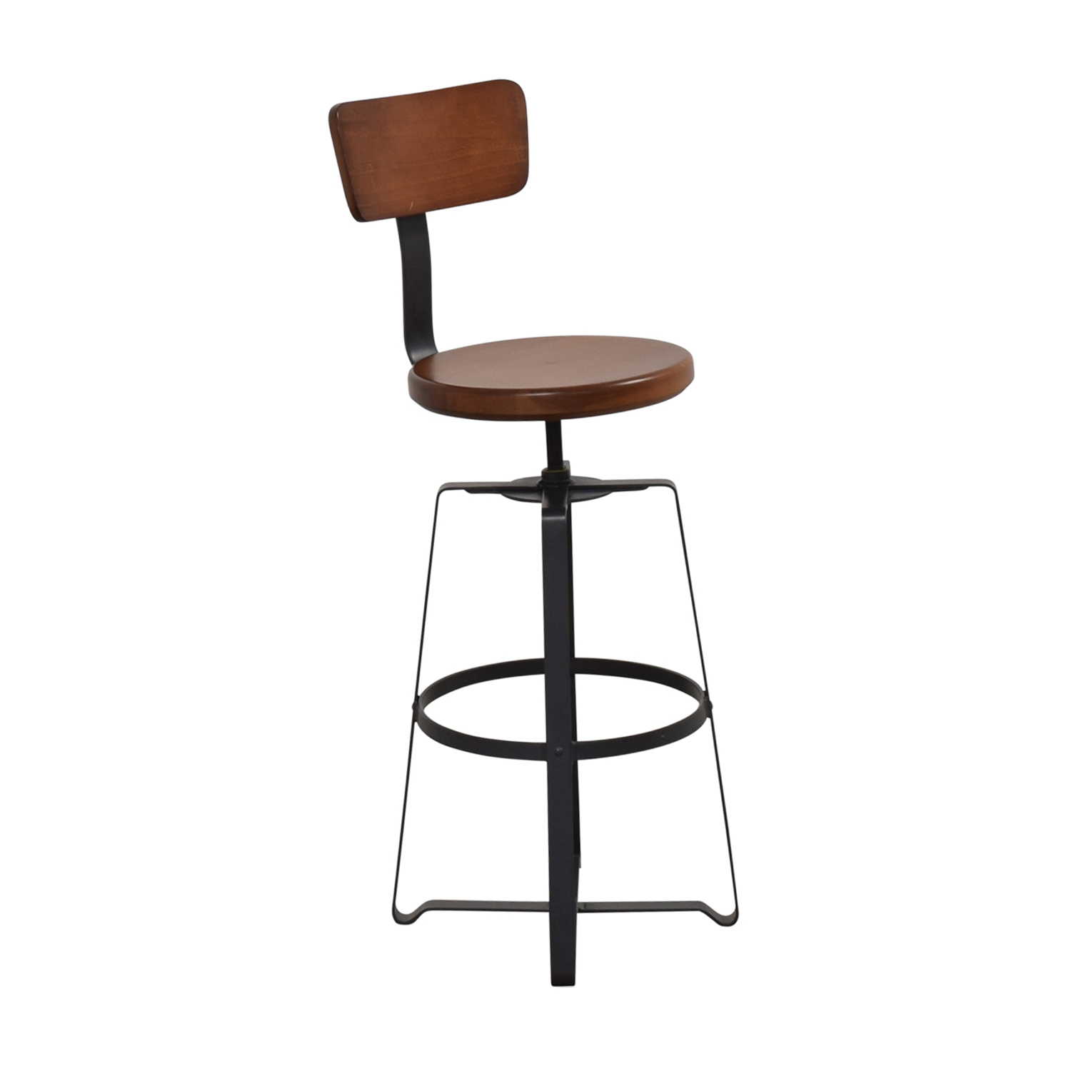 West Elm West Elm Adjustable Industrial Swivel Stool used