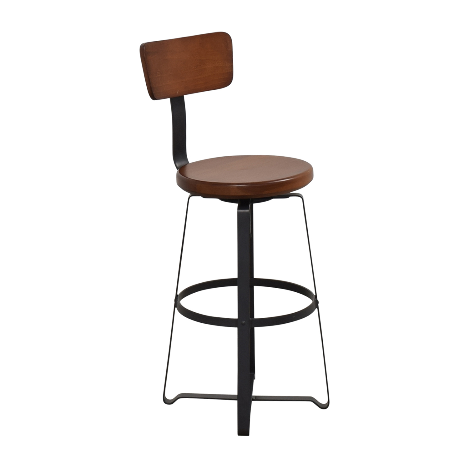 West Elm West Elm Adjustable Industrial Swivel Stool ct