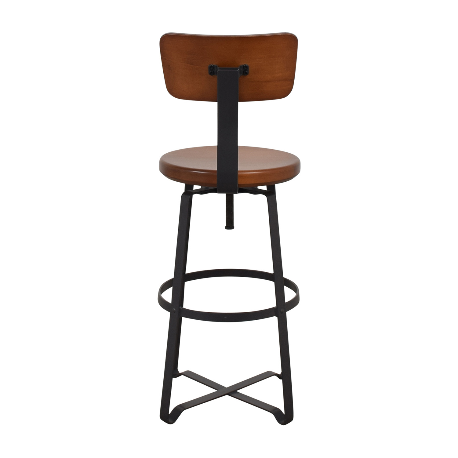 West Elm West Elm Adjustable Industrial Swivel Stool discount