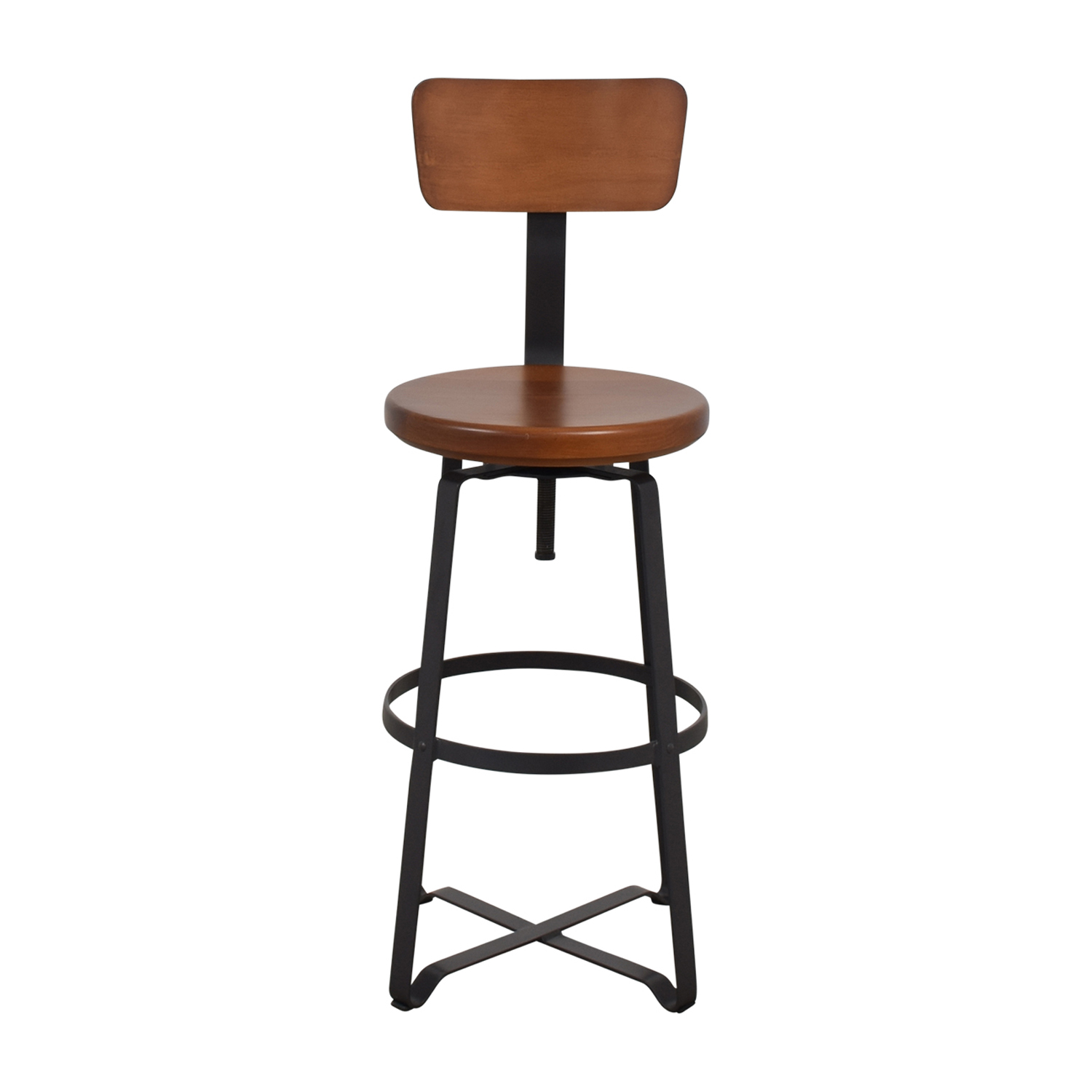 shop West Elm West Elm Adjustable Industrial Swivel Stool online