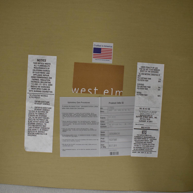 West Elm West Elm Henry Sofa nyc