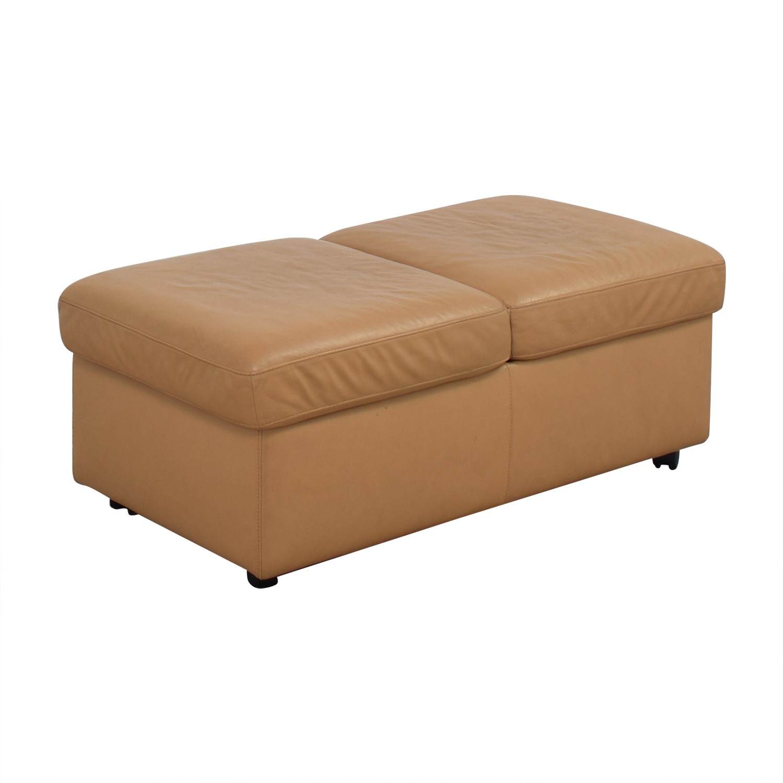 shop Ekornes Stressless Double Ottoman Ekornes Chairs