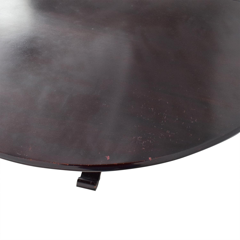 shop Crate & Barrel Expandable Dining Table Crate & Barrel Tables