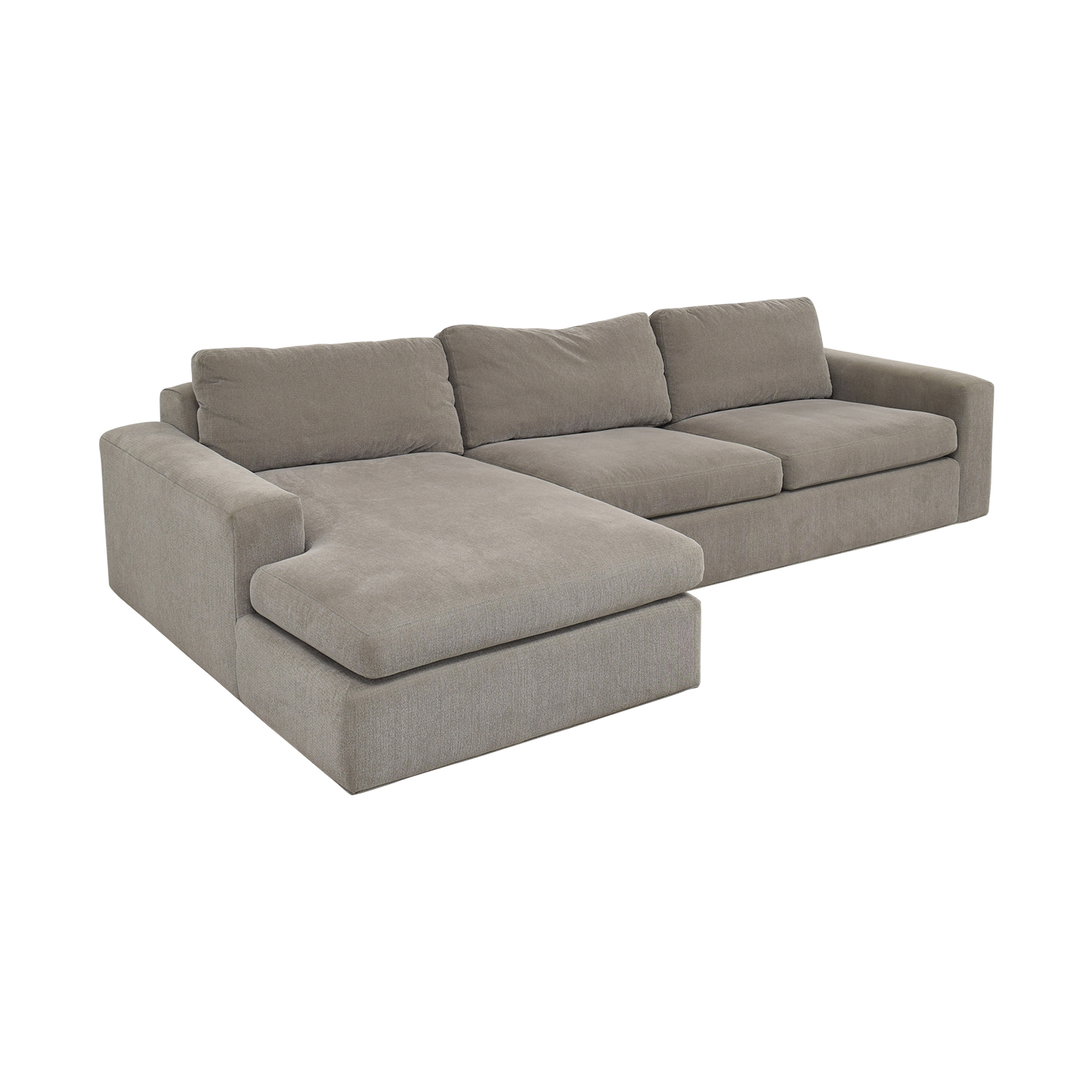 shop Room & Board Chaise Sectional Sofa Room & Board Sofas
