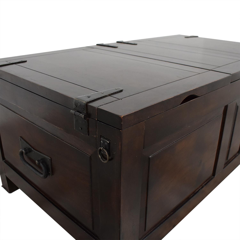 Crate & Barrel Crate & Barrel Rectangular Storage Trunk price