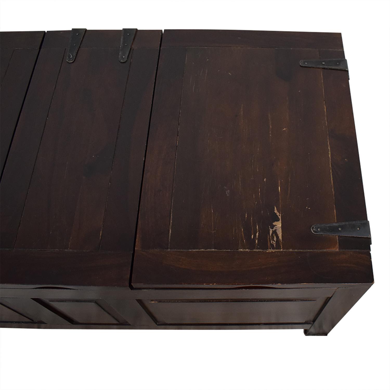 Crate & Barrel Crate & Barrel Rectangular Storage Trunk Storage