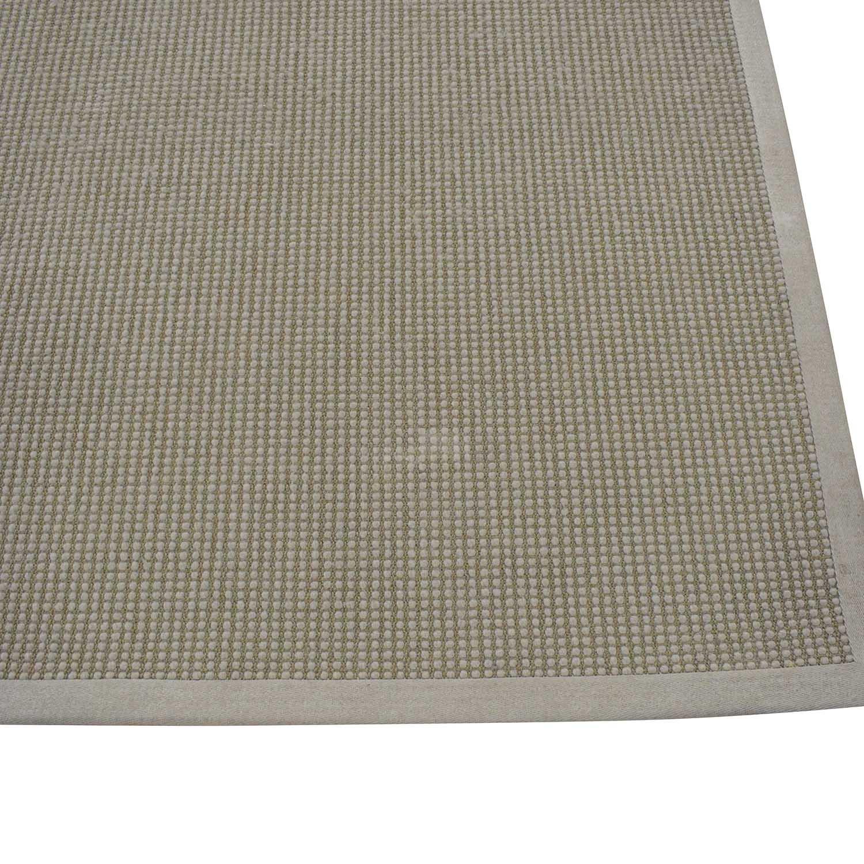 Restoration Hardware Restoration Hardware Belgian Looped Wool Sisal Rug nj