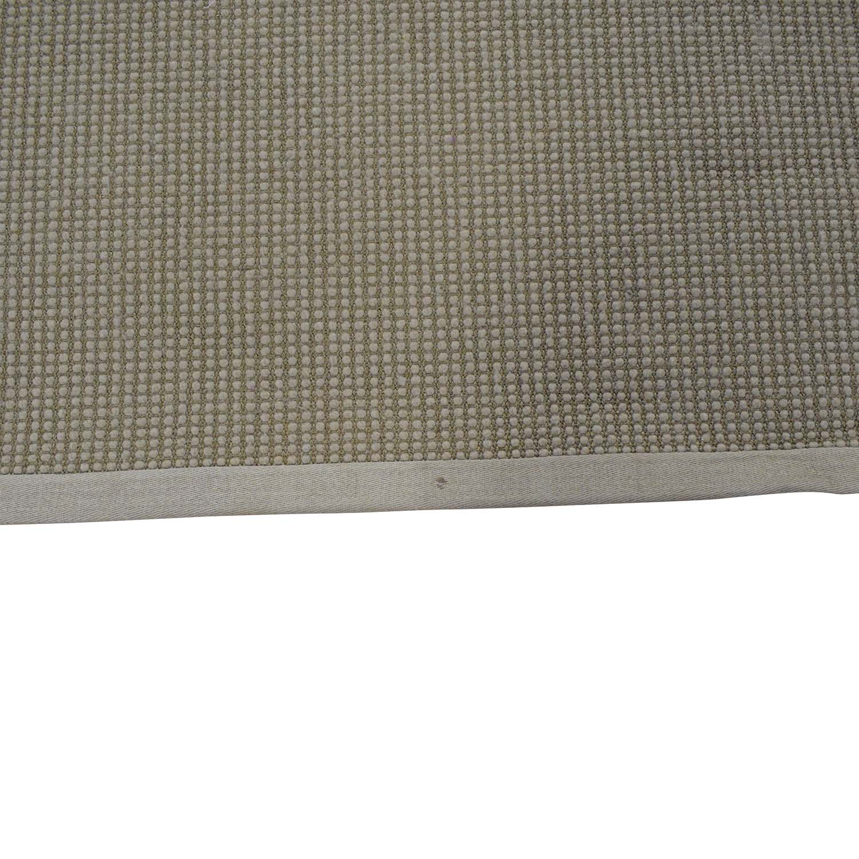 Restoration Hardware Belgian Looped Wool Sisal Rug Restoration Hardware