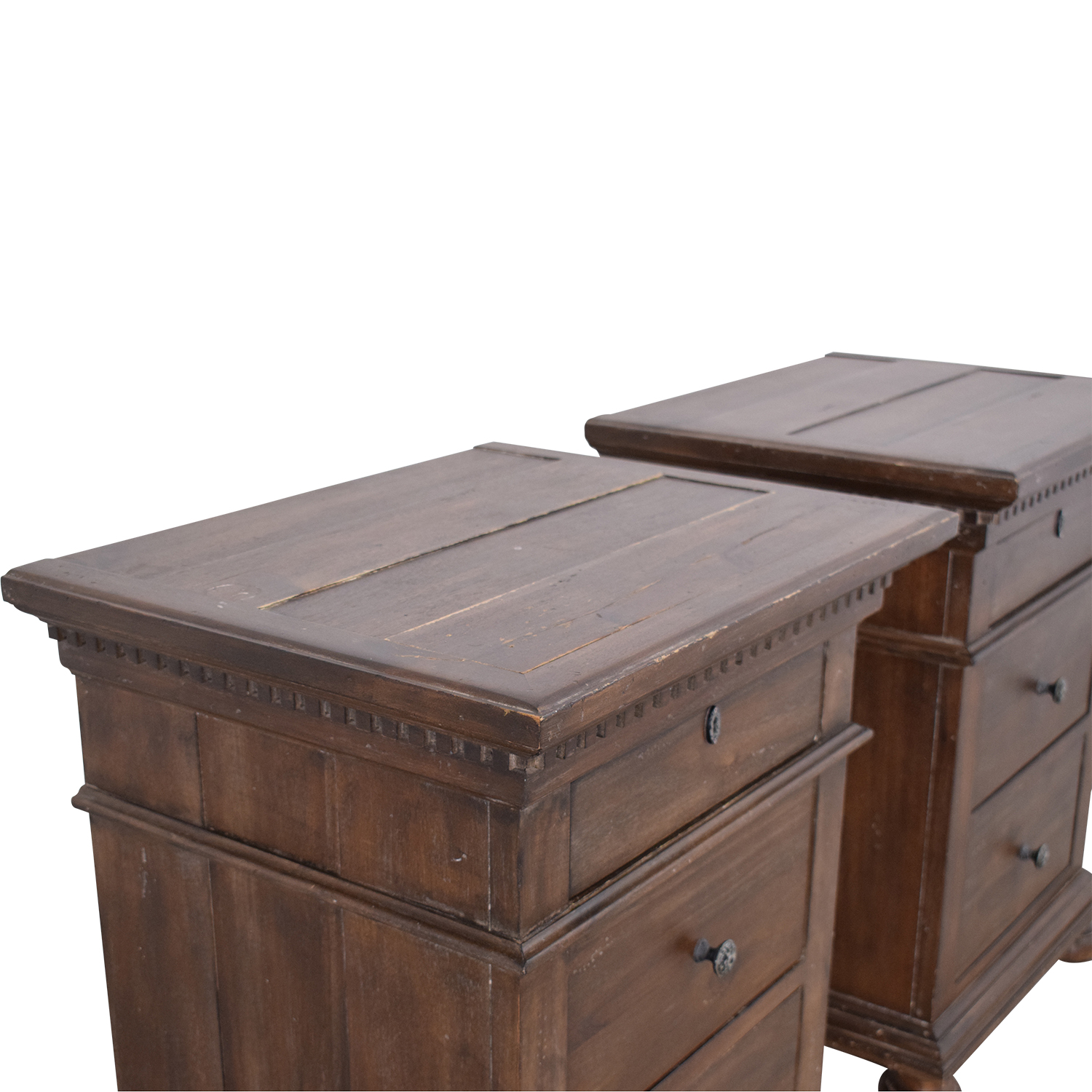 Restoration Hardware Restoration Hardware Saint James Closed Nightstands coupon