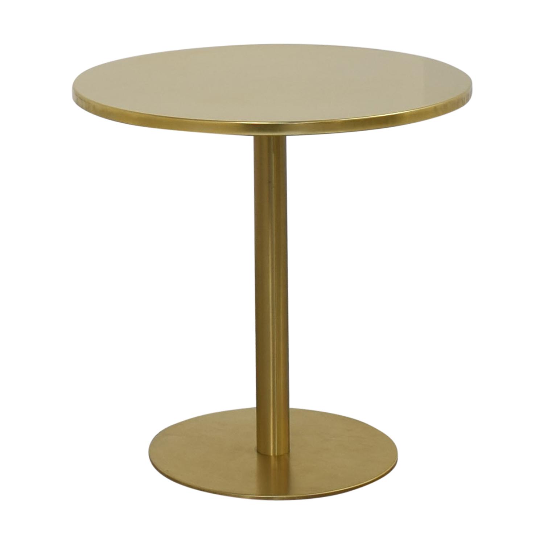 CB2 CB2 Watermark Bistro Dining Table nj